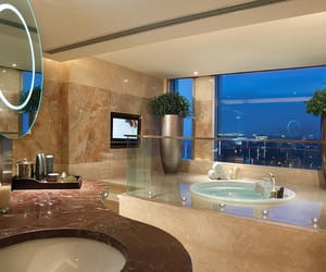 bathroom, luxury, and house image