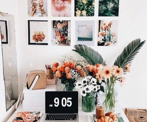 flowers, decor, and house image