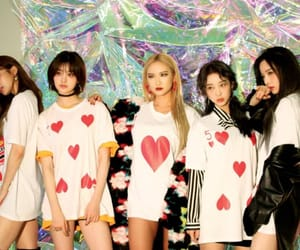girl group, junghwa, and k-pop image