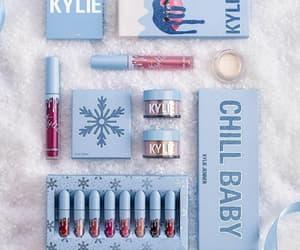 winter, cosmetics, and makeup image