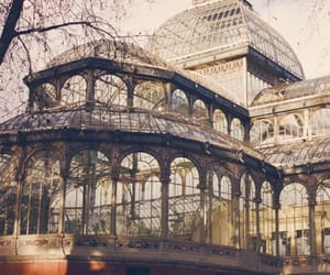 architecture, glass, and madrid image