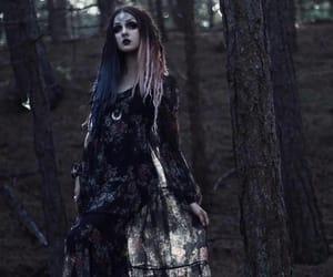 alternative, gothic girl, and goth image