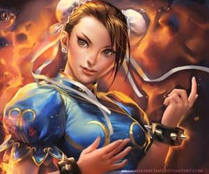 chun li and street fighter image