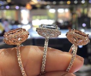 diamond, rings, and diamond rings image