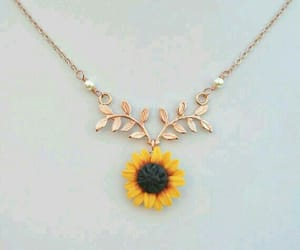 accessories, sunflower, and flowers image