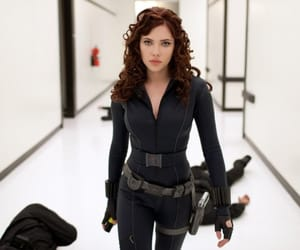 black widow and Avengers image