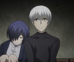 anime, touka, and tokyo ghoul image