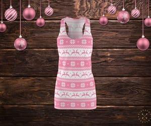 christmas, dress, and etsy image