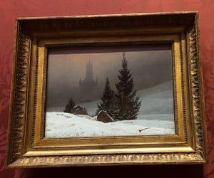 art, church, and Friedrich image