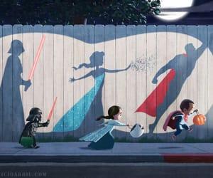 superman, frozen, and Halloween image