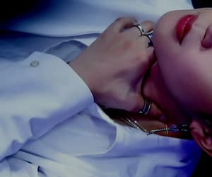 jin, lips, and sexy image