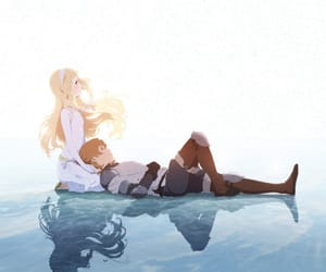 anime, ariel, and anime boy image