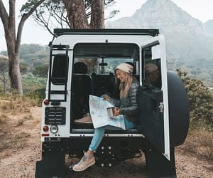 adventure, girl, and lifestyle image