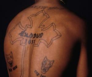 tattoo, tupac, and 2pac image