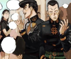 brother, fanart, and josuke higashikata image