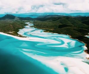 beach, Island, and ocean image