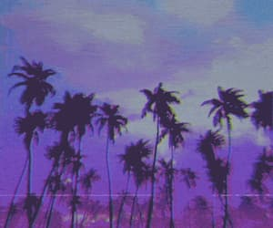 aesthetic, grunge, and purple image