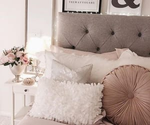 home, mirror, and bed image