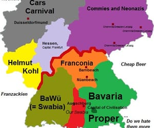 bavaria, map, and quotes image