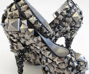 art, fashion, and shoes image