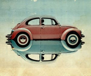 car, beetle, and retro image