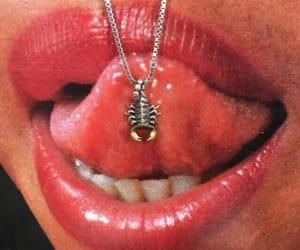 lips, scorpio, and red image