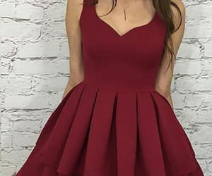 simple homecoming dresses, homecoming dresses short, and homecoming dresses a-line image