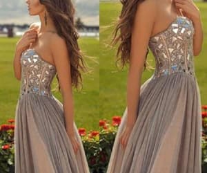 sexy prom dress, prom dress for cheap, and grey prom dress image