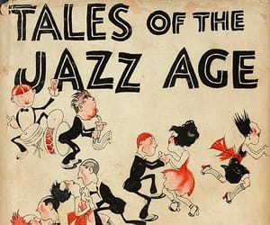 1920s, f scott fitzgerald, and book cover image