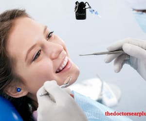 dental hearing protection, dental ear plugs, and earplugs for dentists image