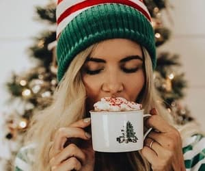 christmas, winter, and girl image