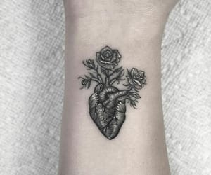tattoo, heart, and romeo lacoste image