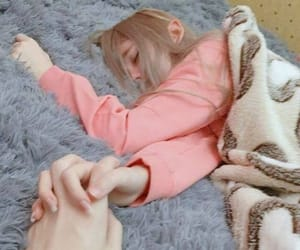pink, couple, and hands image