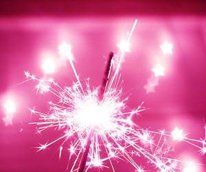 stars, light, and fireworks image