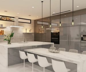 dream house and kitchen image