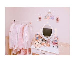 cute room, pink room, and pink disney image