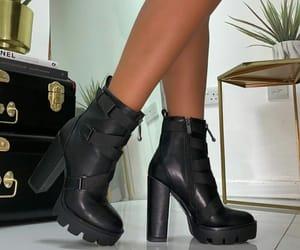 autumn, heels, and luxury image