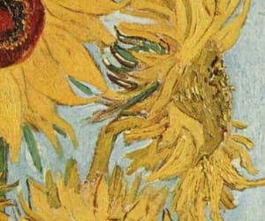 flowers, sun flowers, and painting image