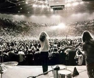 led zeppelin, rock, and black and white image
