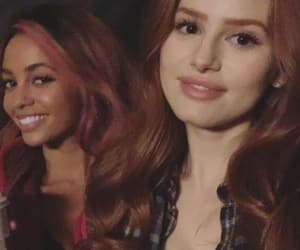 vanessa morgan, madelaine petsch, and riverdale image