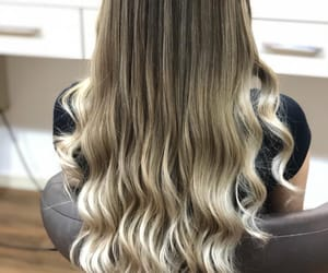 cabelo, loiras, and ombrehair image