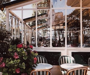 restaurant, aesthetics, and cafe image