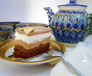 cake, foods, and cakes image