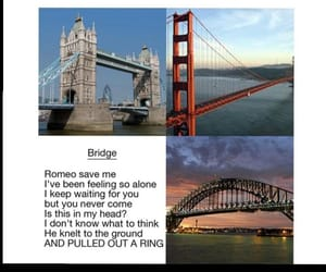 bridges, comedy, and humour image