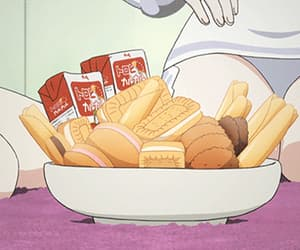 biscuits, anime, and Cookies image