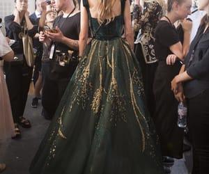 model, dress, and fashion image