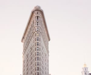 architecture, flatiron building, and photography image