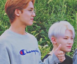 Seventeen, jihoon, and mingyu image