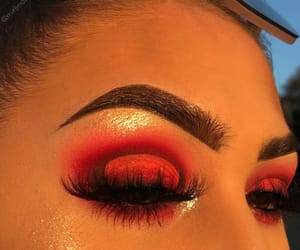 blending, eyebrows, and eyeshadow image