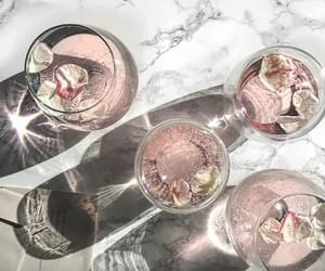 drink, pink, and white image